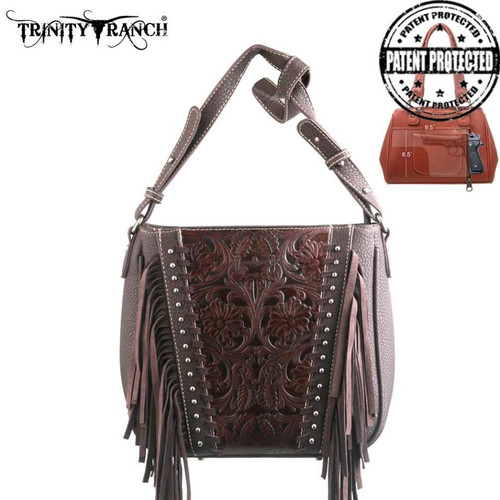 Montana West Trinity Ranch Tooled Design Concealed Handgun Collection