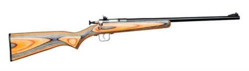 Keystone Crickett 22LR Blued/Black-Orange Laminate
