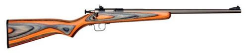 Keystone Crickett 22LR SS/Black-Orange Laminate