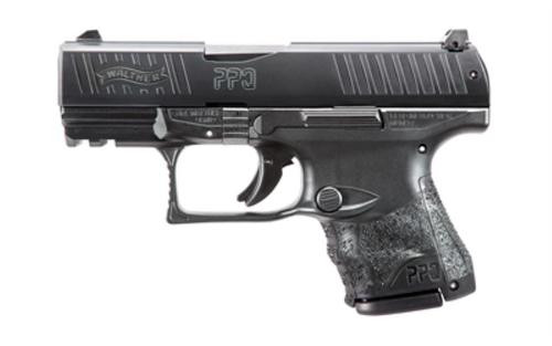 "Walther PPQ M2 Sub-Compact 9mm 3.5"" Barrel Black Tenifer Finish Night Sights 15rd Mag"