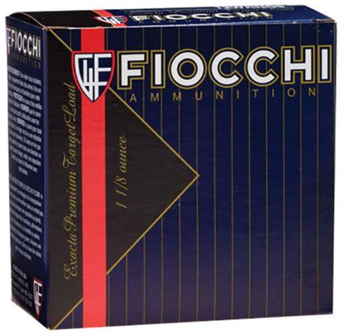 "Fiocchi Premium High Antimony Lead 12 Ga, 2.75"", 1-1/8oz, 8 Shot, 25rd/Box"