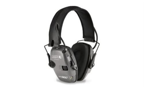 Howard Leight Impactsport Bolt Grey Electronic Earmuff - Industry Leading Attack Time!, 6 / Case