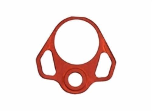 Odin Works Pistol Buffer Tube Back Plate - Red