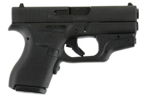 "Glock G42 .380 ACP, 3.25"", FS, Crimson Trace Laserguard, Pocket Holster, 6rd"