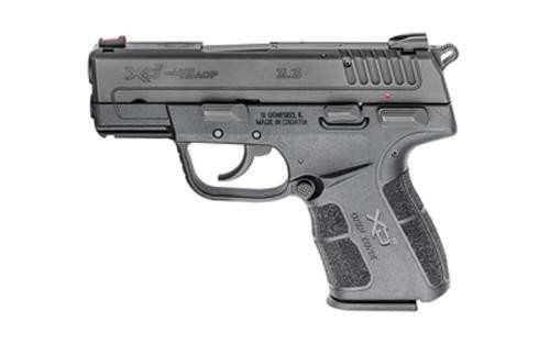 "Springfield XD-E, 45 ACP, 3.3"",, Viridian Red Laser, Melonite Finish, Fiber Optic Sight, 7rd"
