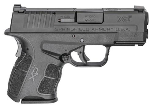 "Springfield XD-S Mod. 2, 45 ACP, 3.3"", Tritium/Luminescent Front Sight, Tactical-Rack Rear, 5/6rd"