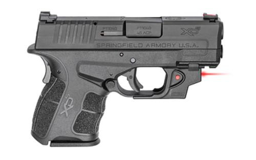 "Springfield XD-S Mod.2, 45 ACP, 3.3"", Ameriglo Pro-Glo Front Sight, Tactical Rack Rear Sight, Viridian Laser, 5/6rd"