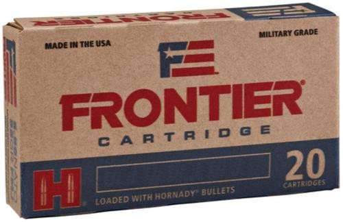 Hornady Frontier .223 Remington, 55gr, Hollow Point Match, 20rd/box