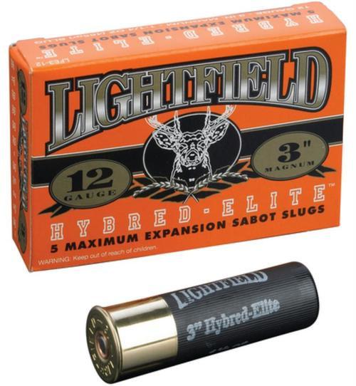 "Lightfield Ammunition Hybred Elite Magnum 12 Ga 3"" 1730 FPS 1.25oz 5 Per Box"