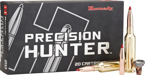 Hornady Precision Hunter .270 WSM, 145gr, ELD-X, 20rd/box