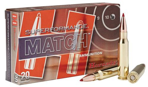 Hornady Superformance Match .308 Win, 168gr, ELD-Match, 20rd/box