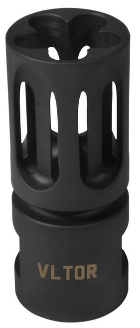 """Vltor Compensator 7.62mm 5/8"""" x 24 TPI Steel Black VC301"""