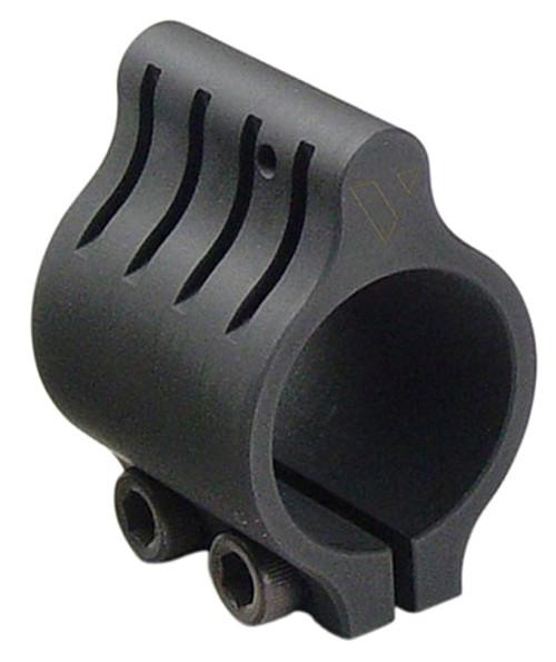 "Vltor Gas Block Screw Mount Low Profile .625"" Stainless Steel Black"