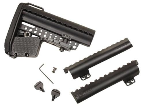 Vltor EMOD Buttstock Kit AR-15 Mil-Spec Polymer Black