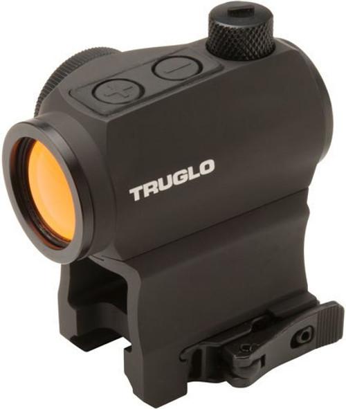 Truglo Tru-Tec Red Dot Sight, 20mm, Black, Quick Disconnect