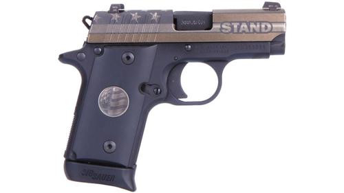 "Sig P238 United We Stand Special Edition.380 ACP, 3"" Barrel, Micro Compact 6/7rd"