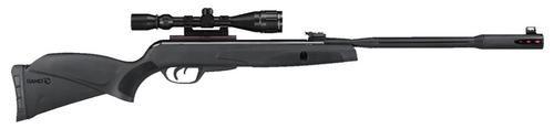 Gamo Whisper Fusion Pro Air Rifle .177 Break Open, Scope Black