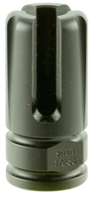 "Advanced Armament Blackout Flash Hider Blackout 9mm Aerospace Alloy .75""-"
