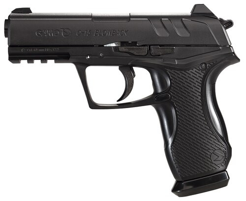 Gamo Bone Collector Air Pistol SA/DA .177 Pellet & BB 16rd Black/OD