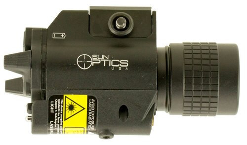 Sun Optics 750 Lumen Compact Light/Laser Red