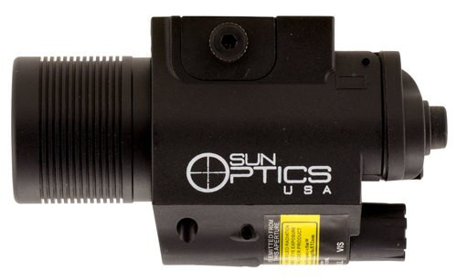 Sun Optics Illuminated Laser/Light Green Laser Any with Rail Picatinny/M