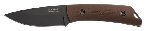 "Ka-Bar Jarosz Field Knife 3.5"" 1095 Cro-Van Clip Point Ultramid"