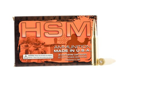 HSM 338 Lapua 250gr, Boat Tail Hollow Point, 20rd Box