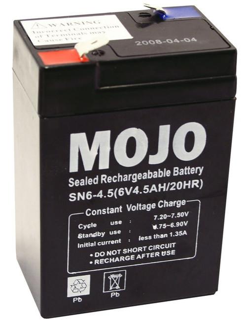 Mojo UB645 Rechargeable Battery 6V Sealed Lead-acid Power Pack