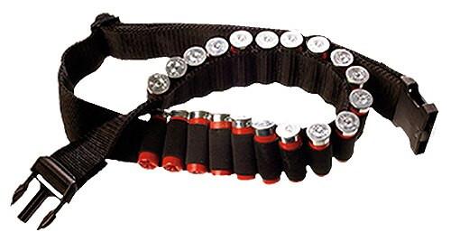 Bulldog Adjustable 24 Shell Ammo Belt Nylon Black