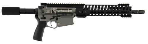 """POF Revolution AR10 Pistol, .308 Win, 12.5"""", 20rd, Nickel Receiver"""