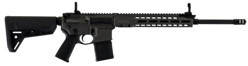 "Barrett, REC7 Gas Piston AR-15 223/556 18"" DMR Barrel, Gray Cerakote Magpul MOE Stock, M-LOK 30rd Mag"