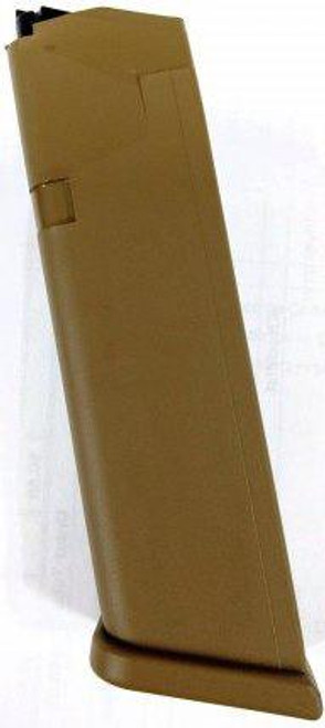 Glock G17/19X/34 Magazine 9mm, 17rd, Coyote Brown Cardboard Packaging