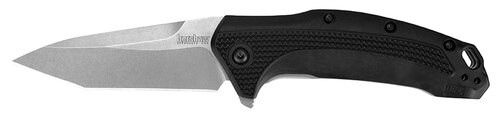 "Kershaw Link Knife 3.25"" 420HC Stainless Tanto Glass Filled Nylon"
