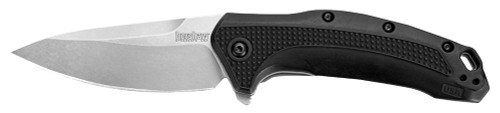 "Kershaw Link Knife 3.25"" 420HC Stainless Drop Point Glass Filled Nylon"