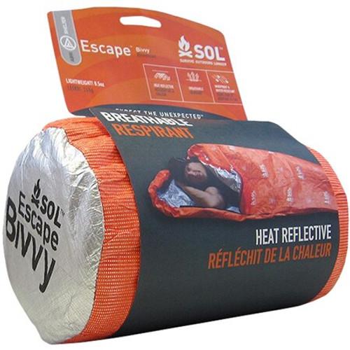 "Adventure Medical Kits SOL Escape Bivvy Blaze Orange 84""x31"""