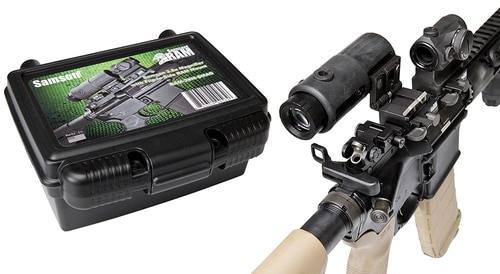 Samson 3.5x Magnifier, Quick Flip Mount 3.5x 35mm Obj Eye Relief Bla