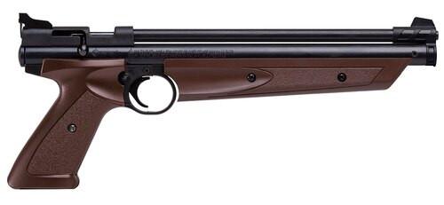 Crosman American Classic Air Pistol Bolt .177 Brown/Black
