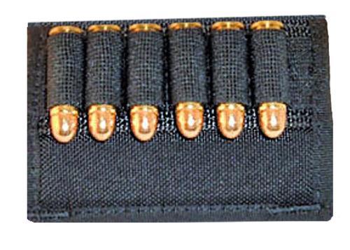 Grovtec Cartridge Slide Holder Any Handgun Ammo Black Elastic/Nylon