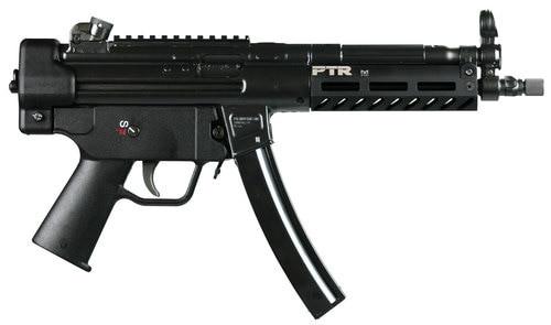 """PTR 9CT Pistol 9mm 8.86"""" Threaded Barrel, M-LOK Black, 30rd Mag"""