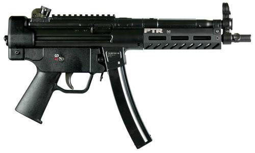 "PTR 9C Pistol 9mm, 8.86"" Barrel, Steel Frame, Black, 3 Lug Barrel, Aluminium M-LOK Handguard, 30rd"