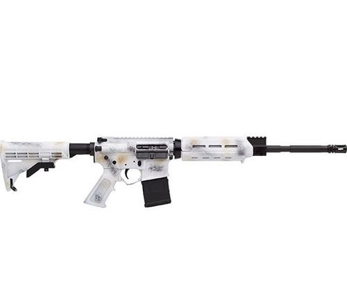 "Alex Pro Arctic AR-15 5.56/223 16"" Barrel Optic Ready Snow Camo"