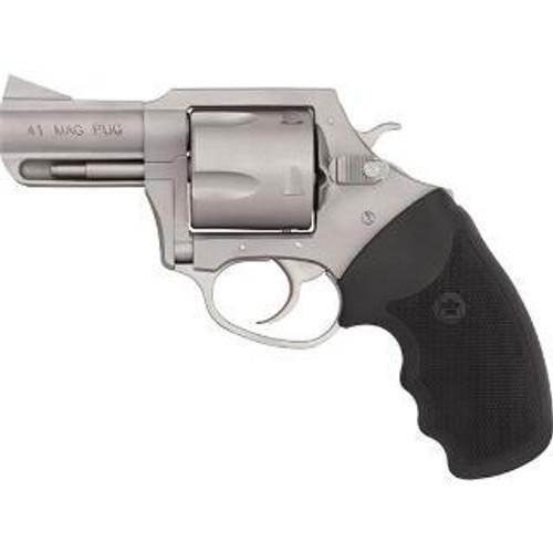 "Charter Arms Mag Pug, .41 Rem Mag, 2.5"" Barrel, Matte Stainless Steel"