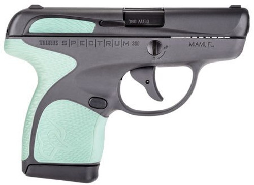 "Taurus Spectrum, .380 ACP, 2.8"", 6/7rd, Black, Mint Accents"