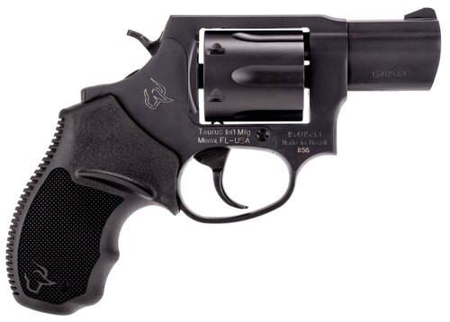 "Taurus 856 M .38 Special Revolver, .2"", 6rd, Black Rubber Grip, Black Carbon Steel"