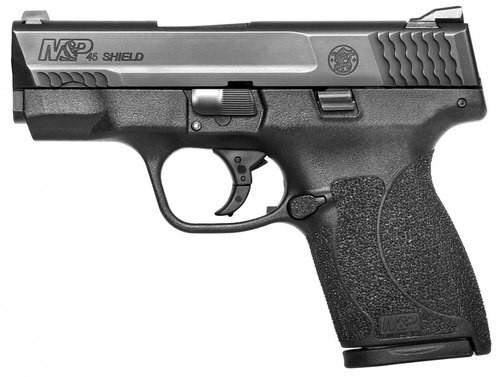 "Smith & Wesson M&P Shield, 45 ACP, 3.3"" Barrel, 6/7rd, Black"