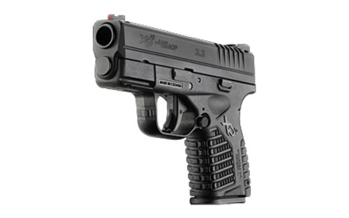 "Springfield XD-S, 45 ACP, 3.3"" Barrel, 5rd, Black Melonite"