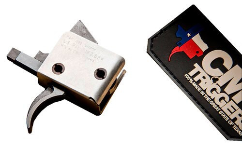 CMC Triggers Standard Trigger Pull Curved AR-15 5-5.5 lbs