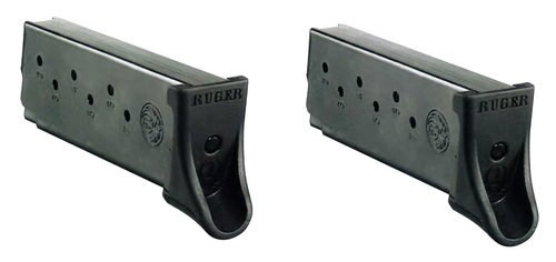 Ruger LC9/LC9S 9mm Magazine 2 Pack, Black, 7rd