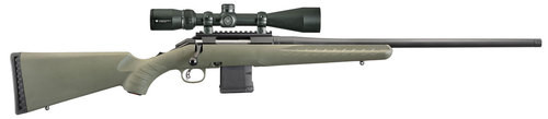 "Ruger American Predator Package 6.5 Creedmoor 22"" Barrel Vortex 4-12 Scope, Moss Green Synthetic Stock"