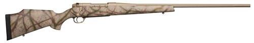 "Weatherby Mark V Outfitter Bolt 300 Weatherby Magnum 28"" Barrel, Carbon Fiber Desert Camo, Black Web Stock Flat Dark Earth Cerakote, 3rd"